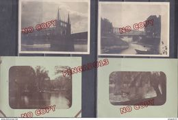 Au Plus Rapide 1923 Strasbourg Ensemble 4 Photos - Lieux