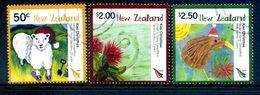 New Zealand 2008 Christmas - 2nd Issue Set Used (SG 3097-3099) - Nuova Zelanda
