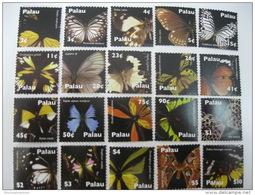 Palau-Butterflies-2007 MNH - Schmetterlinge