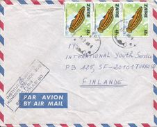RDC DRC Congo Zaire 1980 Bondo Fresh Water Endemic Fish Julidochromis Ornatus Cover - Zaïre