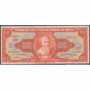 TWN - BRAZIL 181 - 1000 1.000 Cruzeiros 1963 Serie 1029ᴬ 006662 - Signatures: Nunes & De Calmon XF+ - Brasilien