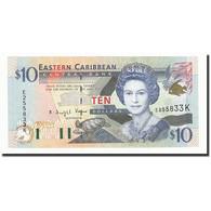 Etats Des Caraibes Orientales, 10 Dollars, Undated (2000), KM:38k, NEUF - Caraïbes Orientales