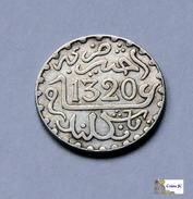 Morocco - 1/2 Dirham - AH1320:1903 - Marruecos