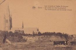 Ieper, Ypres, De Vesten En Sint Jacobuskerk (pk38655) - Ieper