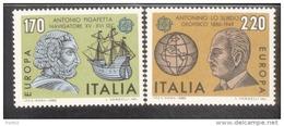 CEPT Bedeutende Persönlichkeiten Italien 1686 - 1687     ** Postfrisch - Europa-CEPT