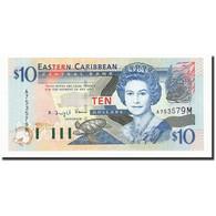 Etats Des Caraibes Orientales, 10 Dollars, Undated (2003), KM:43m, NEUF - Caraïbes Orientales