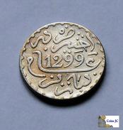 Morocco - 1 Dirham - AH1299:1882 - Morocco