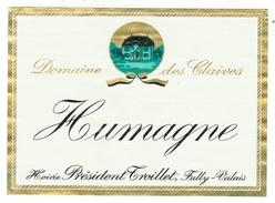 Rare // Etiquette // Humagne, Hoirie Président Troillet, Fully, Valais // Suisse - Etiquettes