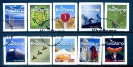 New Zealand 2009 Kiwistamps - 1st Issue Set Used (SG 3162-71) - Nuova Zelanda