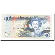 Etats Des Caraibes Orientales, 10 Dollars, Undated (1994), KM:32m, NEUF - Caraïbes Orientales