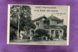 52 FAYS - BILLOT CAFE RESTAURANT A LA ROSE DES VENTS - Fayl-Billot