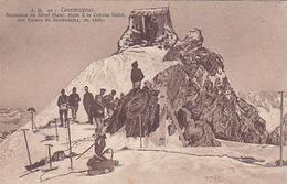Courmayeur - Halte à La Cabane Vallot - 1911    (170816) - Autres Villes