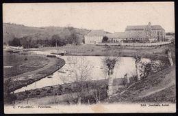 VAL DIEU ( AUBEL ) - PANORAMA - édit. Jonckers - Expédiée 1903 - Cercle Simple Aubel Sur Armoiries - Aubel
