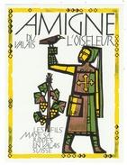 Rare // Etiquette // Amigne Du Valais,, Les Fils Maye SA Riddes, Valais  // Suisse - Etiquettes