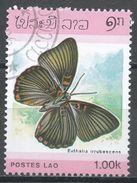 Laos 1986. Scott #693 (U) Euthalia Irrubescens, Butterfly, Papillon * - Laos