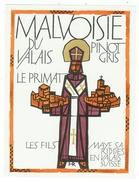 Rare // Etiquette // Malvoisie Du Valais,, Les Fils Maye SA Riddes, Valais  // Suisse - Etiquettes