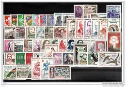 FRANCE - 1960 - Année Complète - Timbres N° 1230 à 1280 - Neufs ** - France