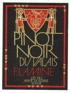 Rare // Etiquette // Pinot Noir, Les Fils Maye SA Riddes, Valais  // Suisse - Etiquettes