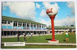 CPSM Vintage Angleterre Butlins Bognor Regis Holiday Park Putting Green Golf Balle Géante - Bognor Regis