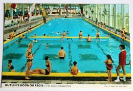 CPSM Vintage Angleterre Butlins Bognor Regis Holiday Park The Indoor Pool Piscine - Bognor Regis