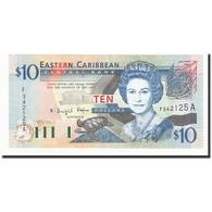 Etats Des Caraibes Orientales, 10 Dollars, Undated (2003), KM:43a, SPL+ - Caraïbes Orientales