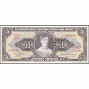 TWN - BRAZIL 184a - 5/50 Centavos/Cruzeiros 1966 Serie 1295ᴬ - Signatures: Nogueria & De Bulhões - ERROR UNC - Brésil