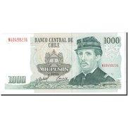 Chile, 1000 Pesos, 2005, KM:154f, NEUF - Chili