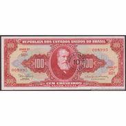 TWN - BRAZIL 185a - 10/100 Centavos/Cruzeiros 1966 Various Series - Signatures: Nogueria & De Bulhões - ERROR AXF - Brasile