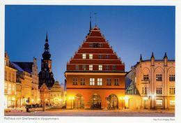 CPM - Rathaus Von Greifswald In Vorpommern - Poméranie - Allemagne - Port Gratuit - Freies Verschiffe - Greifswald