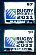 New Zealand 2010 Rugby World Cup Set Used (SG 3234-35) - Nuova Zelanda