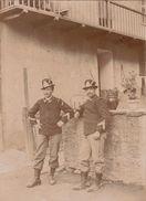 Photo Militaire Déserteur Italien Italie à Moutiers Savoie Alpes En 1897 - Guerre, Militaire