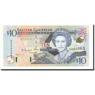 Etats Des Caraibes Orientales, 10 Dollars, Undated (2000), KM:38g, NEUF - Caraïbes Orientales