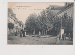 CPA - Environs De PAU - LESCAR - La Rue De La Cité - Lescar