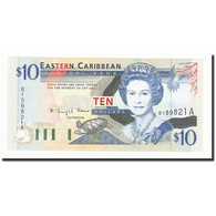 Etats Des Caraibes Orientales, 10 Dollars, Undated (1994), KM:32a, NEUF - Caraïbes Orientales