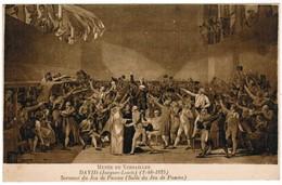 CPA Musée De Versailles, David, Jacques Louis, Serment Du Jeu De Paume (pk35437) - Versailles (Château)