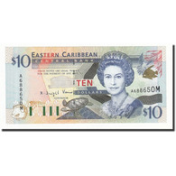Etats Des Caraibes Orientales, 10 Dollars, Undated (2000), KM:38m, NEUF - Caraïbes Orientales