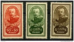 Maroc (1935) N 150 à 152 * (charniere) - Neufs