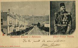 BOULEVARD HAMIDIE A SALONIQUE / GHAZI OSMAN PASCHA ¡¡2/09/1899!! - Grecia