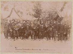 Photo Officier Général Manoeuvre Militaire De Mauriennes Alpes En 1897  Fort De L'esseillon - Guerra, Militari