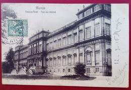 """CPA 1906  ITALIE MONZA""""Palazzo Reale - Facciata Interna""""  Ed Carlo Oggioni 22891 - Monza"""