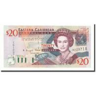 Etats Des Caraibes Orientales, 20 Dollars, Undated (2003), KM:44a, NEUF - Caraïbes Orientales