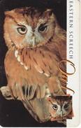 TARJETA DE SUDAFRICA DE UN BUHO  (OWL)  CHOUETTE - Afrique Du Sud