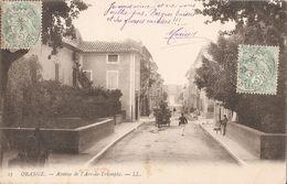 Orange-avenue De L'arc De Triomphe - Orange