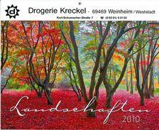 Kalender 2010 Landschaften Winter Frühling Sommer Herbst (Postkarten) Drogerie Kreckel Weinheim - Calendars