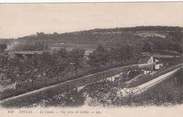 Cp , 88 , ÉPINAL , Le Canal , Vue Prise De Golbey - Epinal
