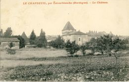 LE  CHAPDEUIL, Par  LATOURBLANCHE (Dordogne) -- LE  CHATEAU - France