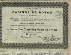 CASINOS DE ROYAN - Casino