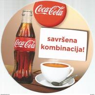 COCA COLA New Coaster From Serbia - Posavasos (Portavasos)
