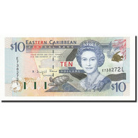 Etats Des Caraibes Orientales, 10 Dollars, Undated (2000), KM:38l, NEUF - Caraïbes Orientales