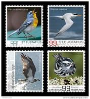 Caribbean Netherlands (St. Eustatius) 2016 Mih. 28/31 Fauna. Birds Of St. Eustatius MNH ** - Curaçao, Antilles Neérlandaises, Aruba